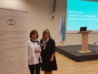 """Konferencija """"Socialinės partnerystės vaidmuo užimtumui didinti"""""""