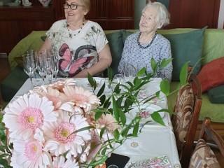 Šimtametei klaipėdietei Elenai Gudaitienei nuoširdūs sveikinimai