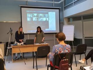 Centro direktorė Diana Stankaitienė dalyvauja projekto