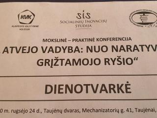 7-oji mokslinė - praktinė konferencija